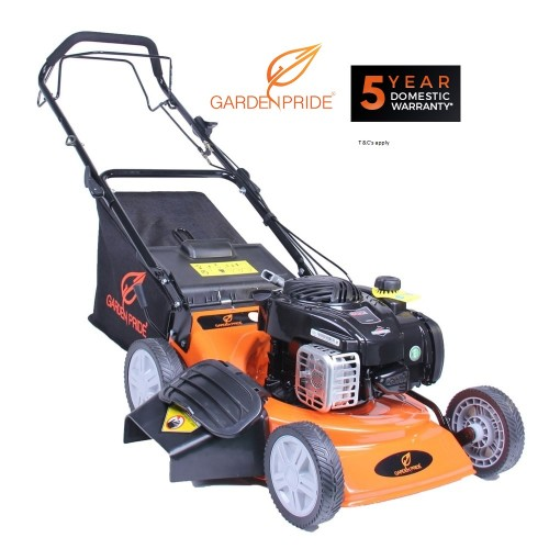 GARDEN PRIDE GP183N1SPM 18 Inch (45 cm) Briggs 500 Series Steel Deck Self Propelled 3-IN-1 Mower