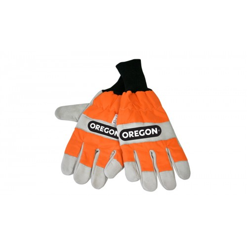 Oregon 91305L chainsaw gloves