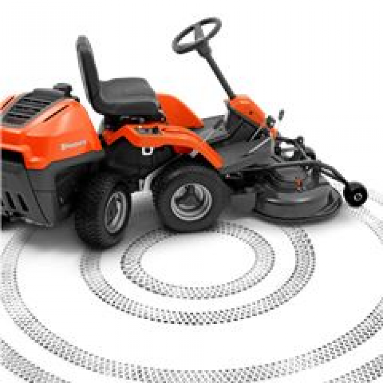 husqvarna compact ride on lawn mower r 216 awd 103. Black Bedroom Furniture Sets. Home Design Ideas